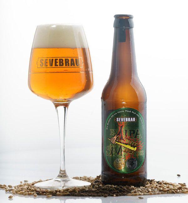 Cerveza artesana X 1 IPA