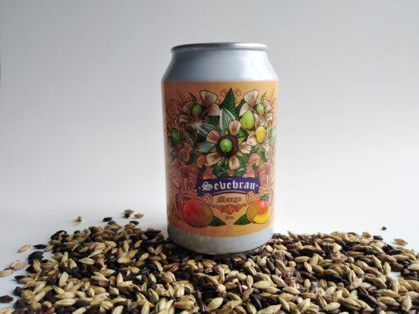 Cerveza artesana sabor a mango