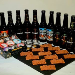 Pack 12 cervezas con patés