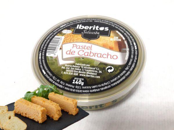 Iberitos paté pastel de cabracho