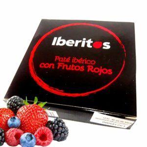 Iberitos paté ibérico con frutos rojos