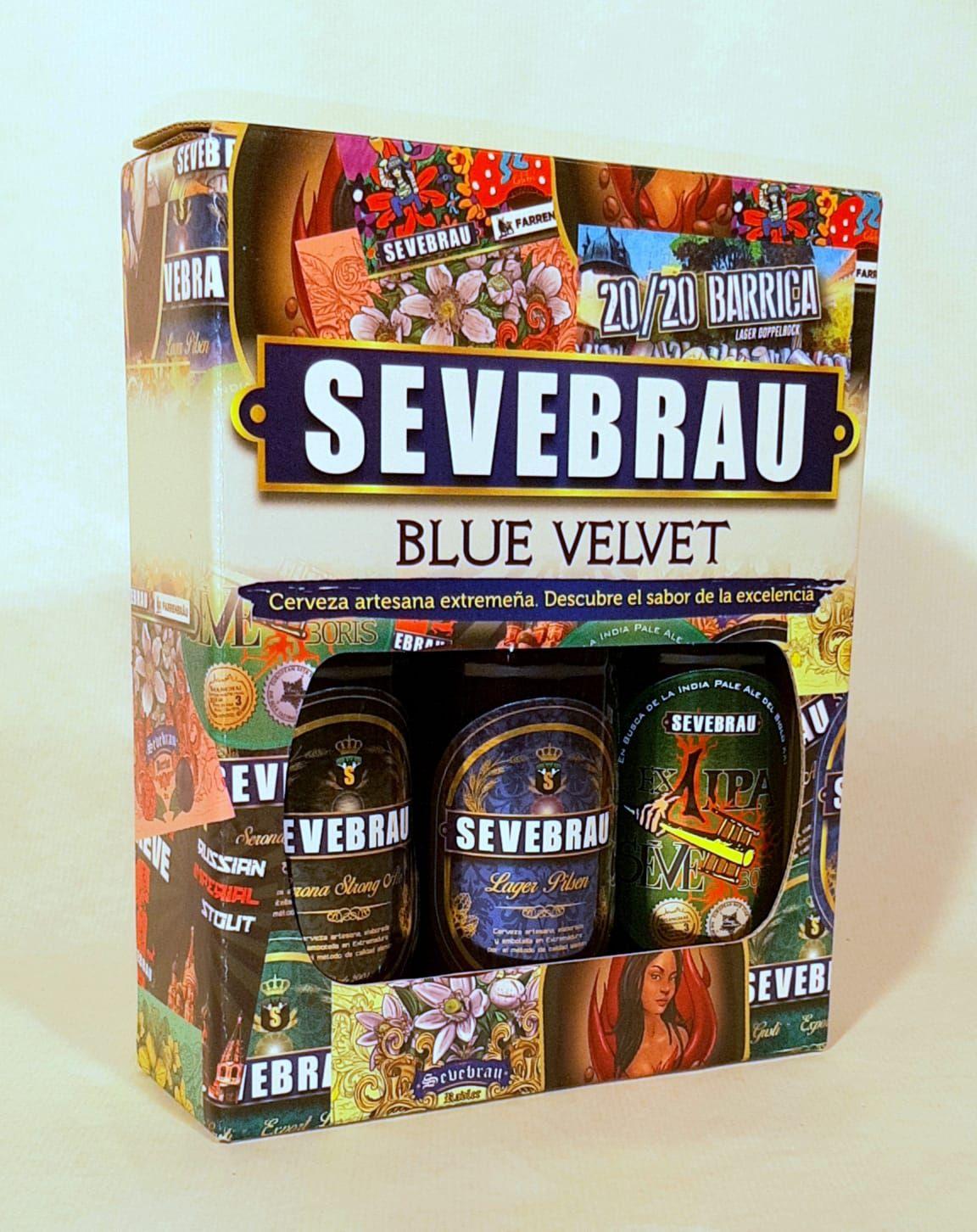 tres cervezas artesanales Sevebrau para regalo