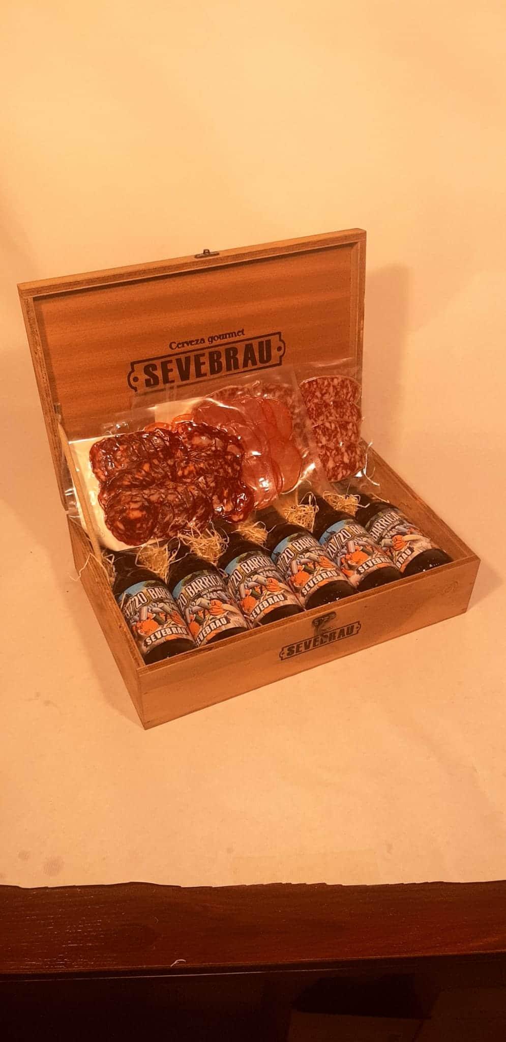 regalo cervezas artesanales Extremeñas