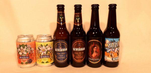 Seis cervezas artesanas