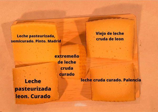tabla de quesos de oveja Españoles