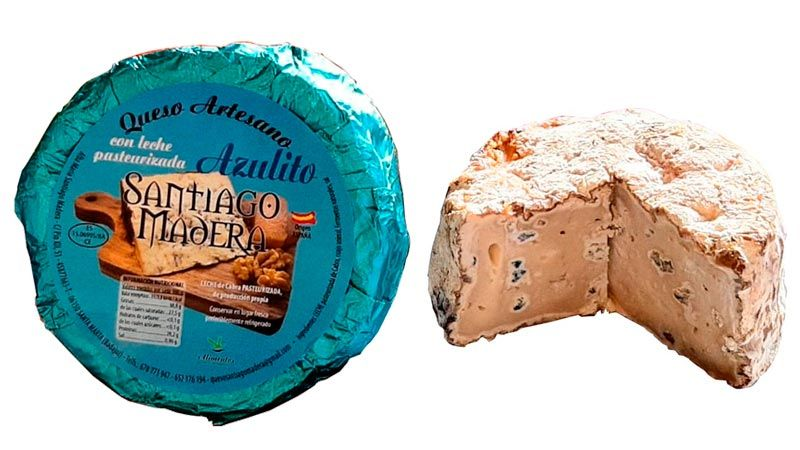 Queso Azul Azulito Santiago Madera