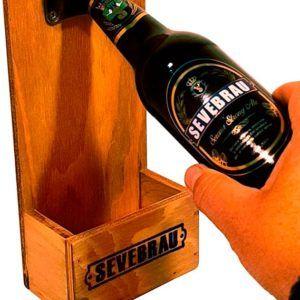 abridor de cerveza de pared
