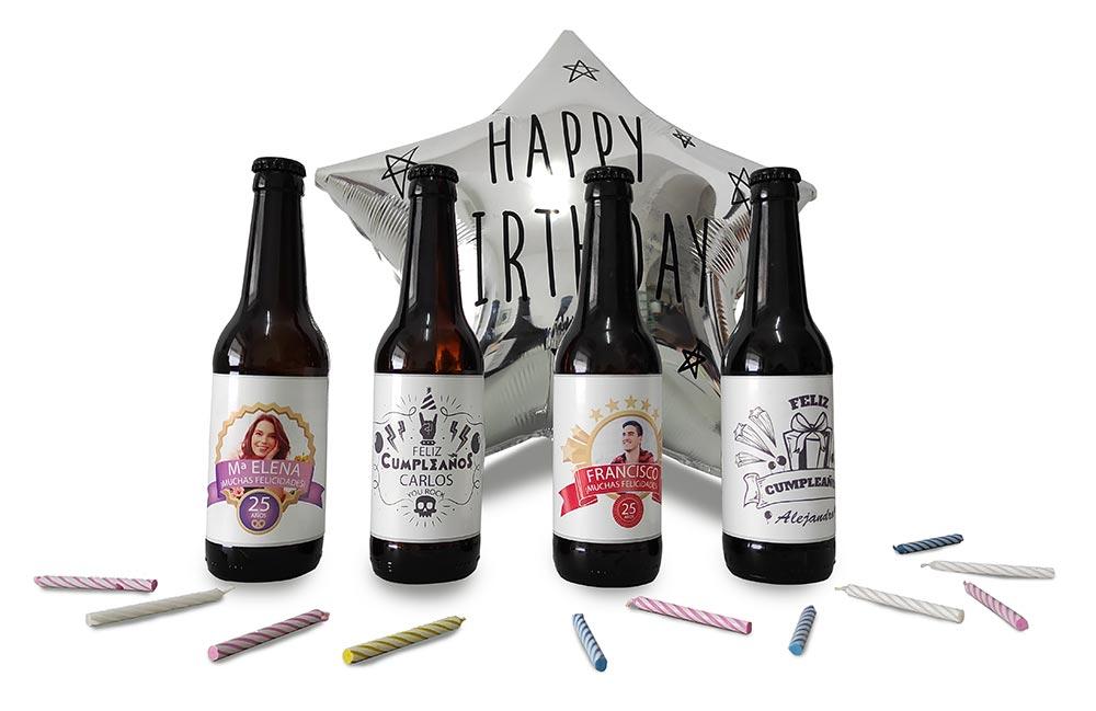 cervezas personalizadas para regalo