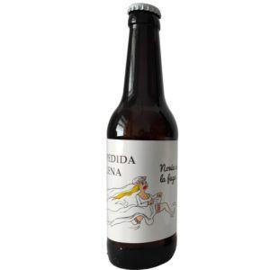 etiqueta cerveza despedida soltera novia a la fuga