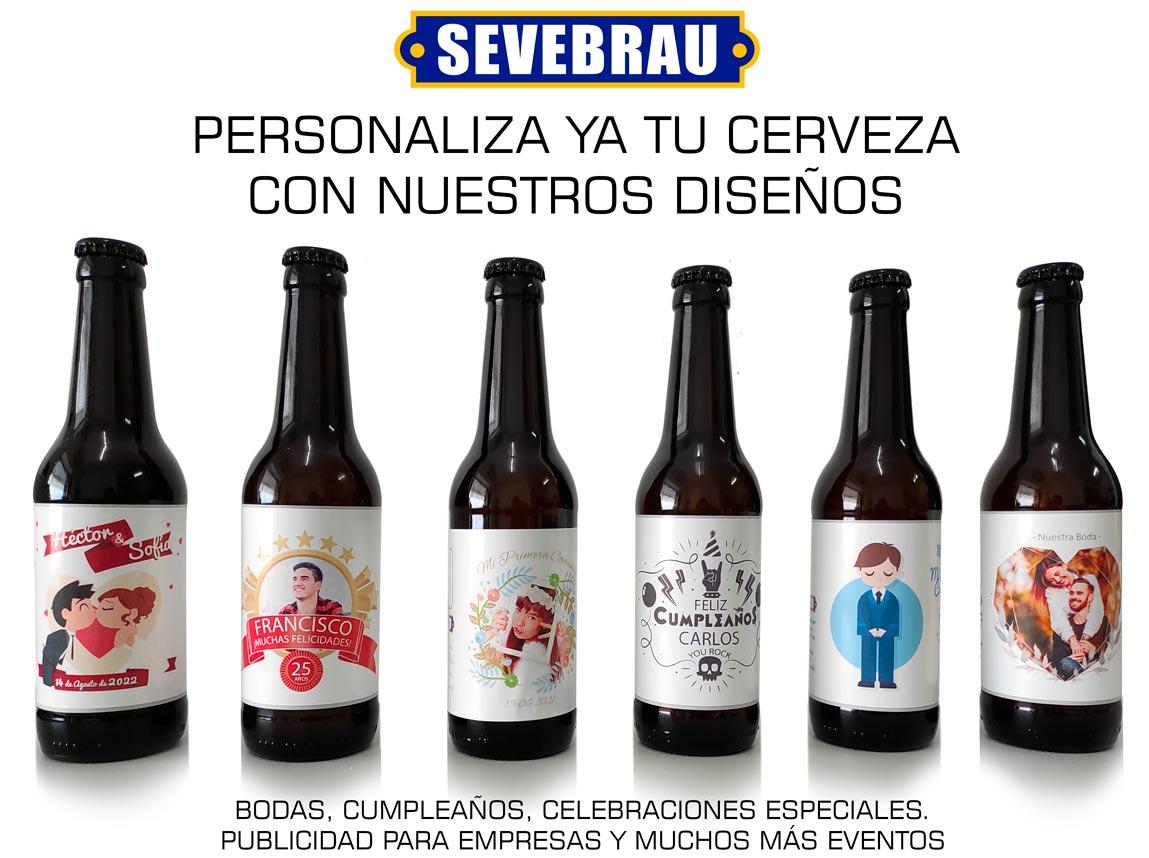 personalización de cervezas online